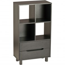 Dolly Tall Storage Unit - Graphite Black