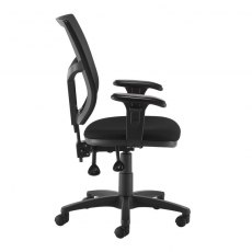 Jory 880 Mesh Back Office Chair Adjustable Arms - Black