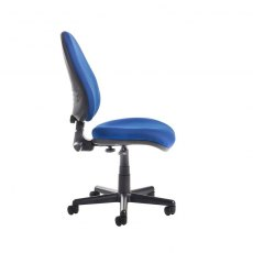Myron Fabric Swivel Height Adjustable Office Chair - Blue