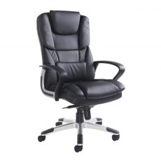 Latif Deep Padded Swivel Managers Office Chair - Black