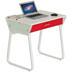 Tope Compact Desk With Drawer