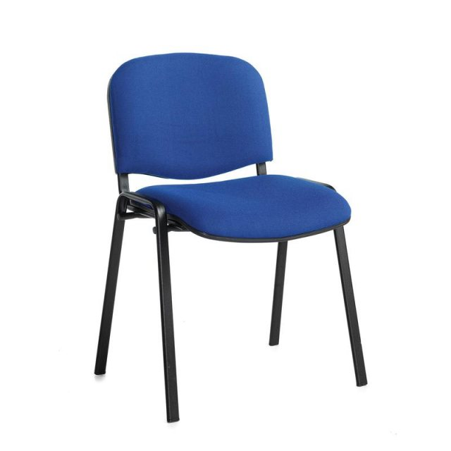 Home In Nodin Padded Stackable Conference Chair - Blue