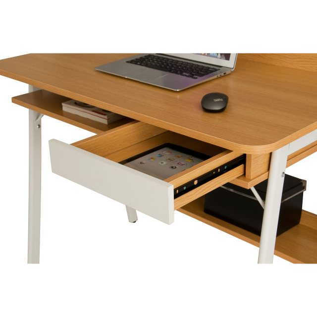 Piranha Furniture Weever Laptop Desk With Drawer And Lower Shelf