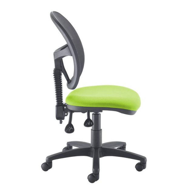 Home In Orlena 160 Mesh Back Swivel Office Chair - Black and Green