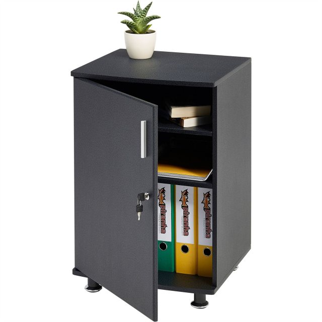 Piranha Furniture Bowfin Lockable Desktop Extension Cabinet