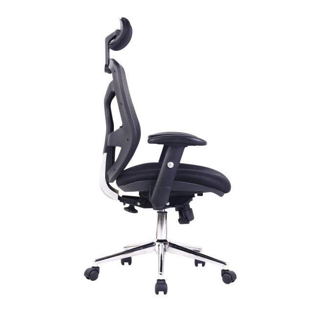 Home In Sullivan Premium High Back Office Chair - Black