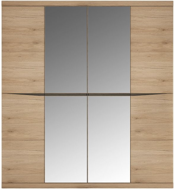 Home In Wanaka Wardrobe with 2 Mirrored Doors