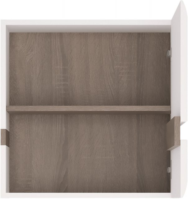 Home In Chelsea Wall Cupboard - White