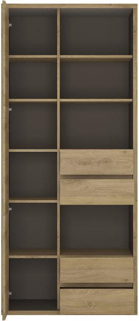 Home In Shetland Wide Bookcase