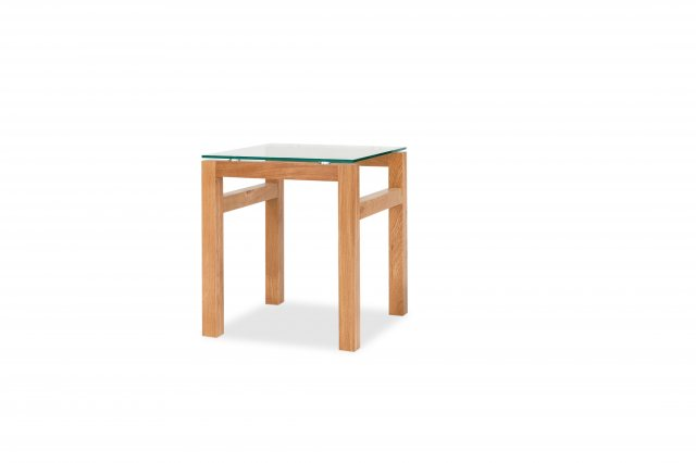 Home In Tribeca End Table - Oak