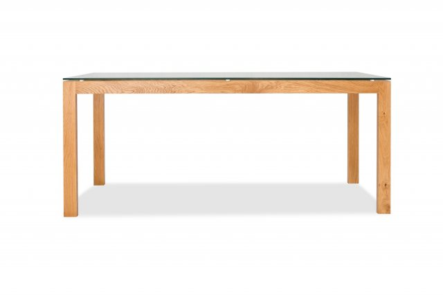 Home In Tribeca Dining Table - Oak