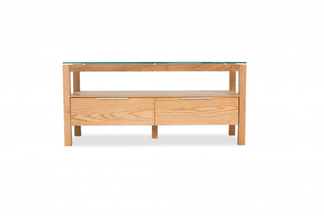 Home In Tribeca TV Stand - Oak