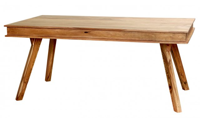 Home In Jodhpur Small Dining Table - Sheesham Wood