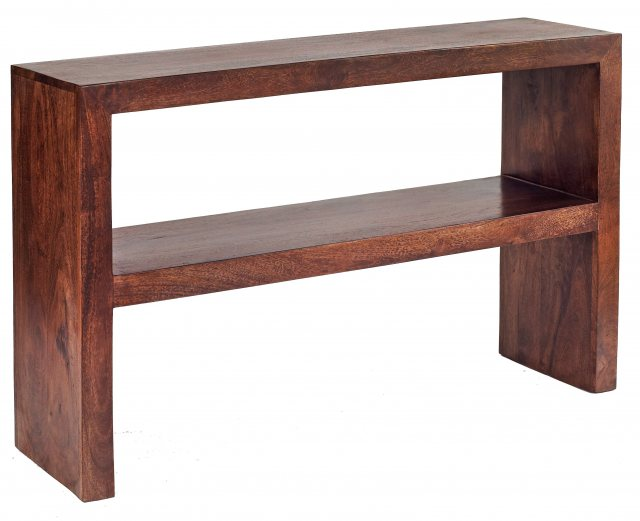 Home In Toko Console Table - Dark Mango Wood