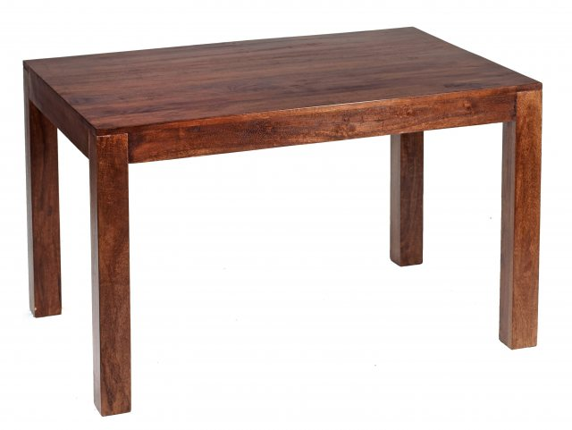 Home In Toko Dining Table - Dark Mango Wood