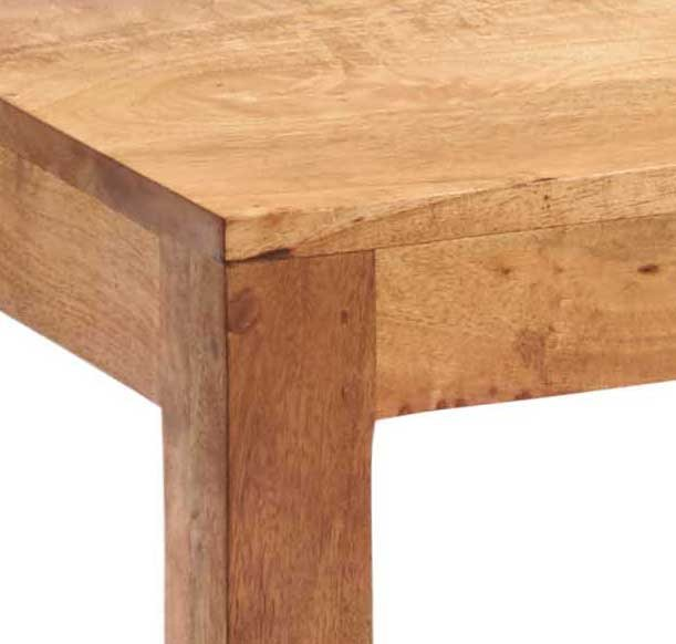 Home In Toko Dining Table - Light Mango Wood