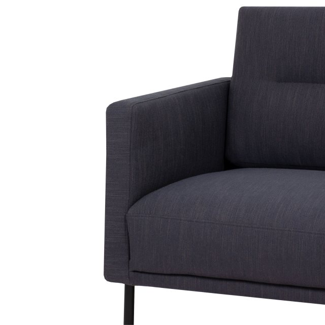 Home In Koppla Armchair - Anthracite - Dark Grey