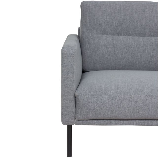 Home In Koppla 2 Seater Sofa - Light Grey