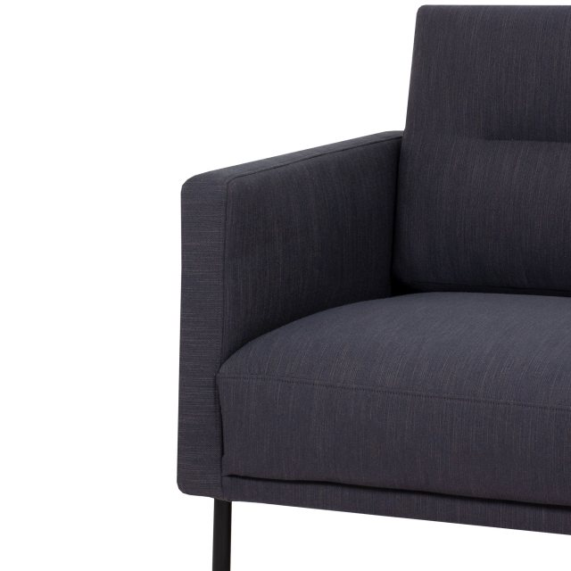 Home In Koppla 3 Seater Sofa - Anthracite - Dark Grey