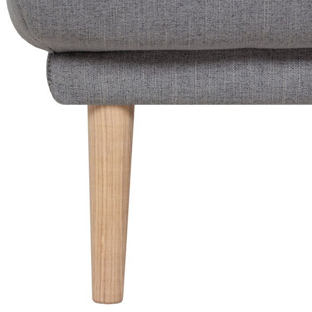Home In Koppla Footstool - Grey