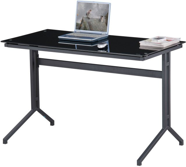 Piranha Furniture Capelin Glass Desk