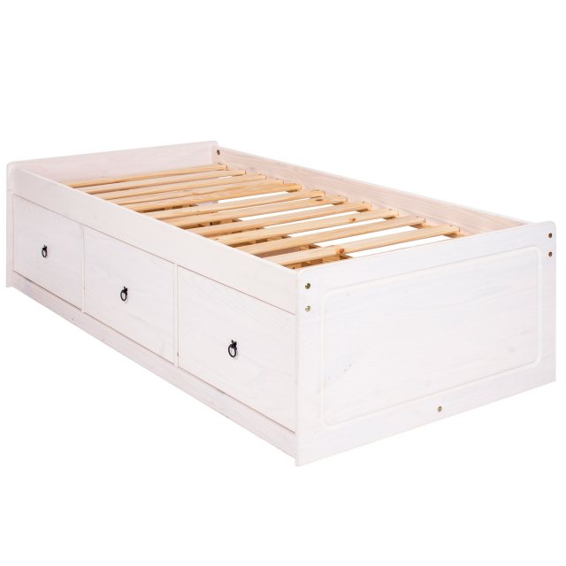 Home In Tolland Cabin Bed - White