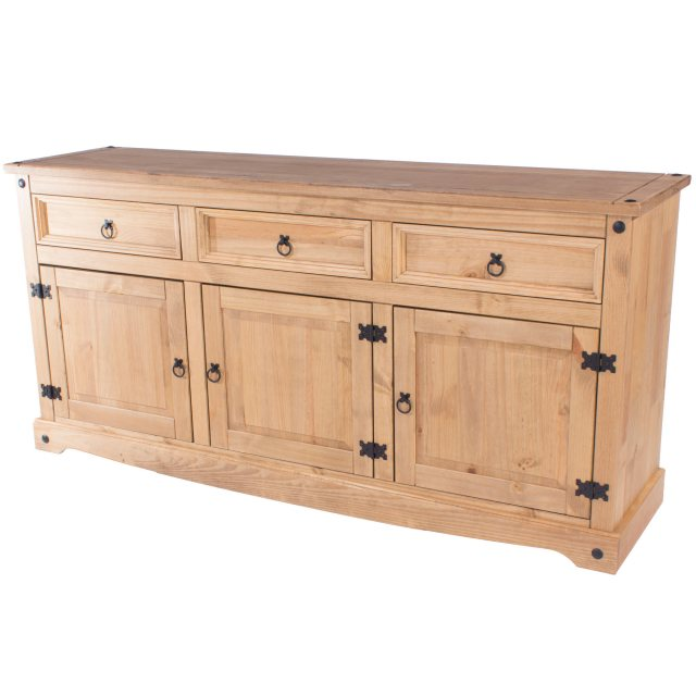 Home In Tolland Large Sideboard - Pine