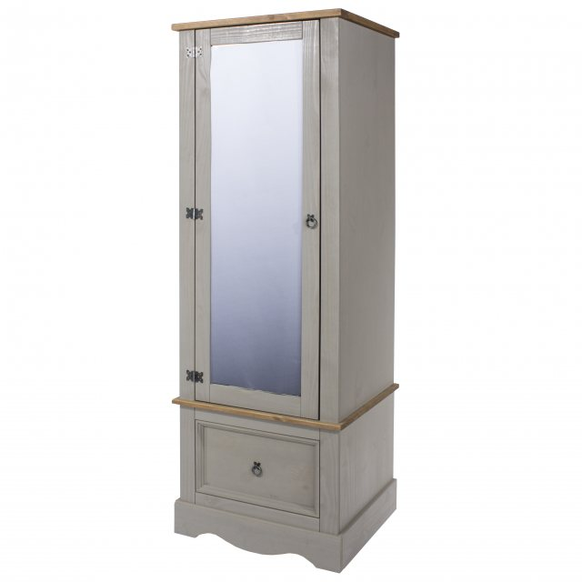 Home In Tolland Armoire with Mirrored Door