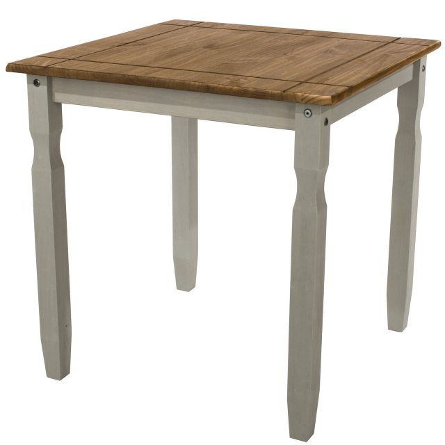 Home In Tolland Square Dining Table - Grey