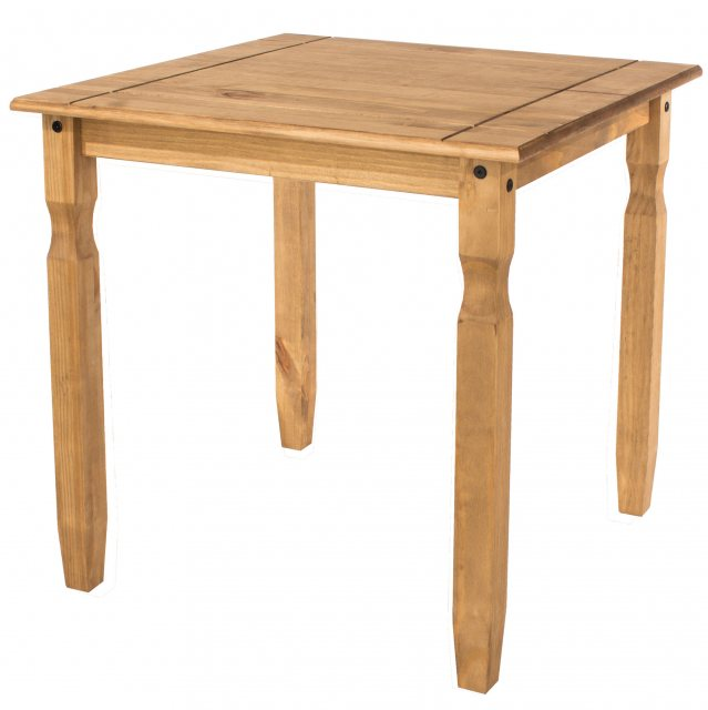 Home In Tolland Square Dining Table - Pine