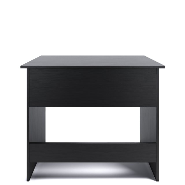 Piranha Furniture Pilot Desk - Black Woodgrain