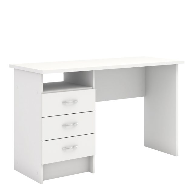 Home In Tarm 3 Drawers Desk