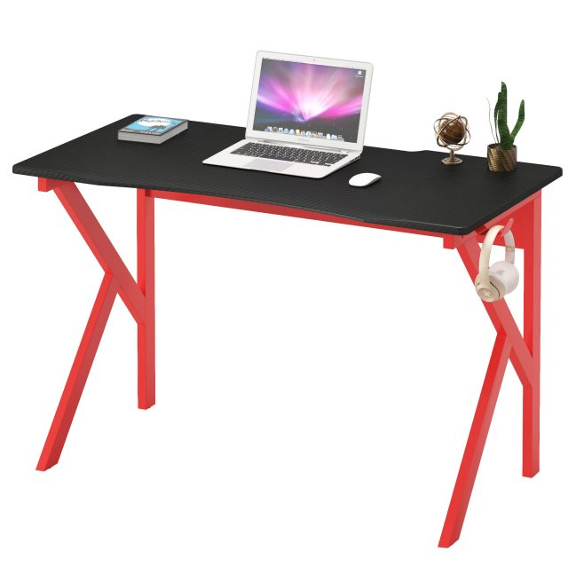 Piranha Furniture Zorro Gaming Desk - Red