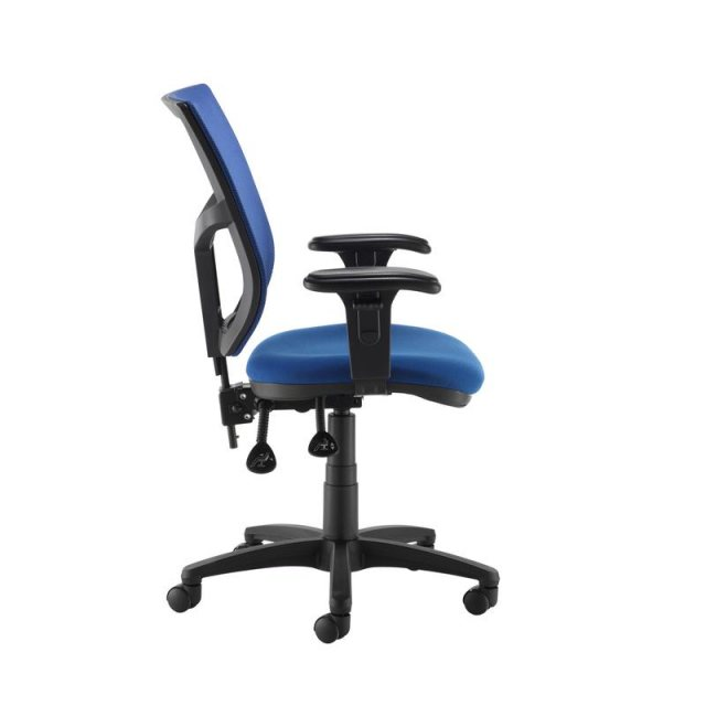 Home In Jory 480 Mesh Back Office Chair With Adjustable Arms - Blue