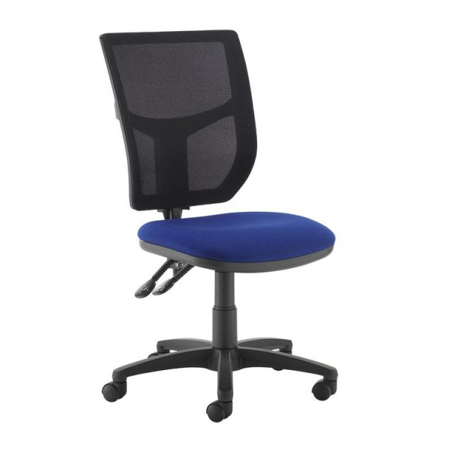 Home In Jory 680 Mesh Back Office Chair - Black and Blue