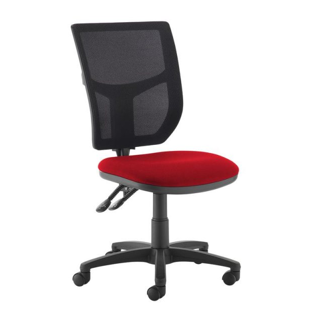 Home In Jory 680 Mesh Back Office Chair - Black and Red