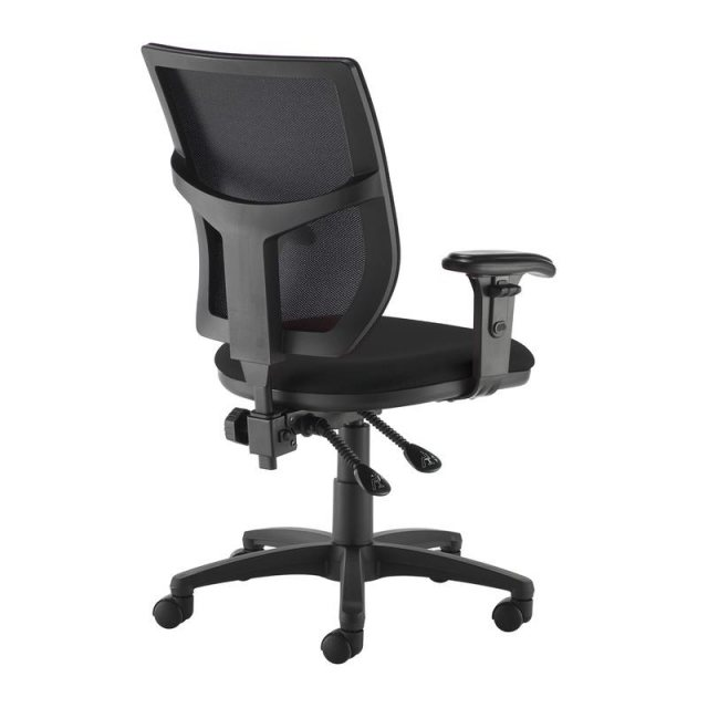 Home In Jory 880 Mesh Back Office Chair Adjustable Arms - Black