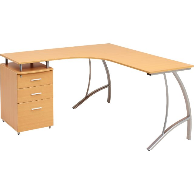 Piranha Furniture Regal Reversible Corner Desk With A4 Filing