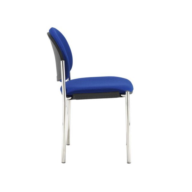 Home In Baldo Fabric Occasional Office Chair - Blue