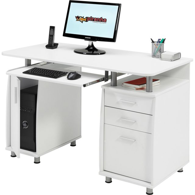 Piranha Furniture Emperor Desk With Cupboard & Drawers