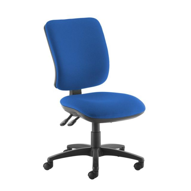 Home In Guli 450 Fabric Swivel Office Chair - Blue