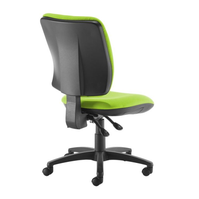 Home In Guli 450 Fabric Swivel Office Chair - Green