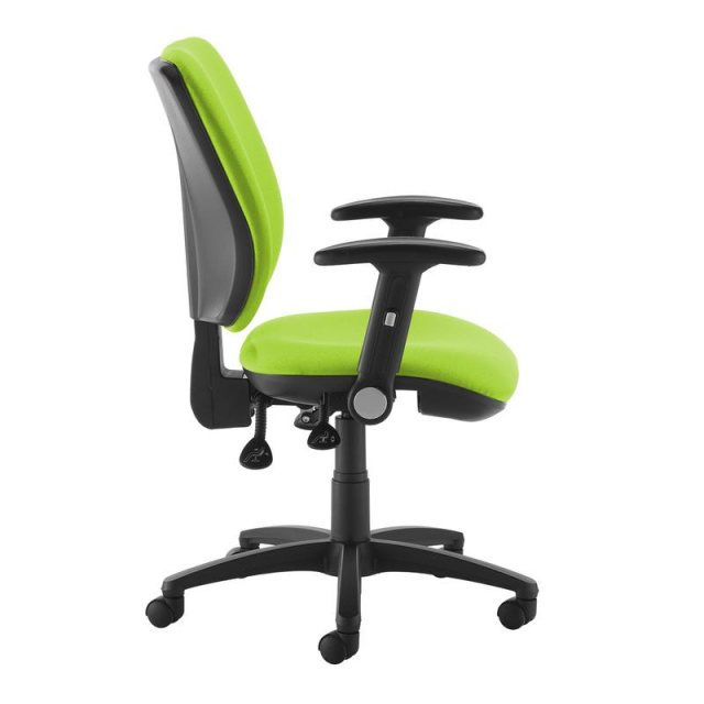 Home In Guli 750 Swivel Office Chair Folding Adjustable Arms - Green