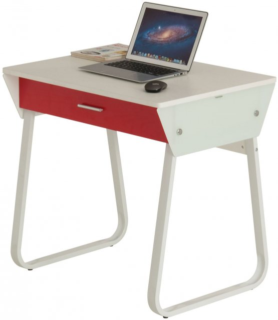 Piranha Furniture TOPE Compact Desk - White Woodgrain